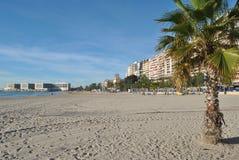 Klocka-torn på stranden arkivfoto