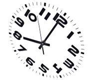klocka åtta o Arkivfoton