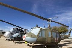 Klocka UH-1H Iroquois Medivac Arkivfoto