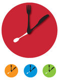 klockabestick Arkivbild
