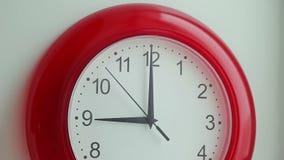 Klockaflyttning lager videofilmer