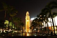 klockaHong Kong torn Arkivfoto