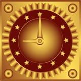 klockainstrumentbräda Royaltyfria Foton
