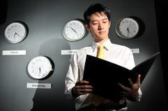 klockakontor för 141 affär Arkivbild