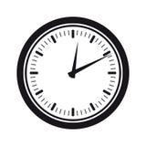 Klockakontur Royaltyfri Fotografi
