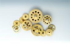 klockakugghjul Fotografering för Bildbyråer