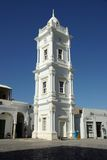 klockalibya torn tripoli Arkivbild