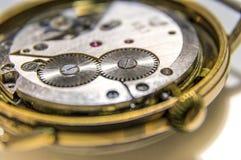 Klockamekanism Royaltyfria Bilder