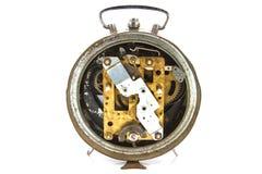 Klockamekanism som göras i tekniken Arkivfoton