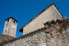 klockan roofs tornet Royaltyfri Bild