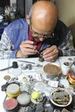 Klockareparation i Peru Royaltyfria Bilder