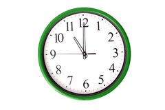 Klockaserie - 11 klockan Arkivfoto