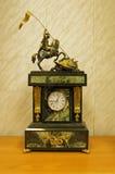 klockaskulptur royaltyfria foton