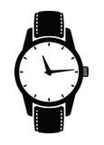 Klockasymboler Royaltyfri Bild