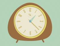 klockatappning Stock Illustrationer