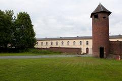 Klockatorn av en bryta plats Royaltyfri Fotografi