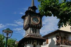 Klockatorn Evian-les-Bains arkivfoton