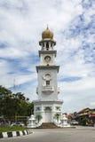 Klockatorn för drottning Victoria Memorial - Arkivbilder