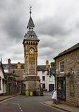 Klockatorn hej på wyemonmouthshire Wales UK fotografering för bildbyråer