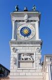 Klockatorn i Udine Royaltyfria Foton