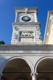Klockatorn i Udine Royaltyfri Fotografi