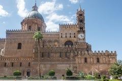 Klockatorn, Palermo, Italien Arkivbild