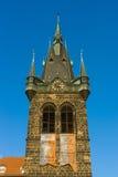 Klockatornet av den kyrkliga heliga Roman Emperor Saint Henry II och helgon Cunigunde av Luxembourg Fotografering för Bildbyråer