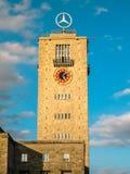 Klockatornet i den Stuttgart Tyskland Royaltyfri Bild