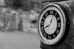 klockatornet i parkera Fotografering för Bildbyråer