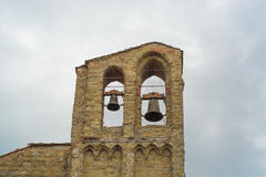 Klockor av Arezzo Royaltyfri Fotografi