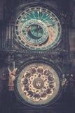 Klockor i Prague Royaltyfri Bild