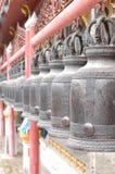 Klockor i templet Royaltyfria Bilder