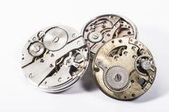 Klockor och kugghjul Royaltyfri Bild