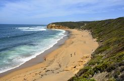 Klockor strand i Victoria, Australien Royaltyfri Fotografi