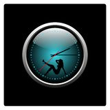 Klockor vektorillustration Royaltyfri Fotografi