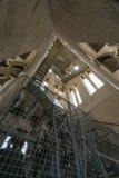 Klockorna inom det Klocka tornet, splittring, Kroatien Arkivfoto