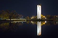KlockspelKlocka torn Arkivbild
