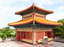 Klockstapel av den kinesiska templet Royaltyfri Foto