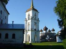 Klockstapel i Kargopol Arkivbilder