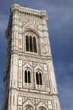 Klockstapel - Klocka torn, domkyrka; Florence Royaltyfri Fotografi