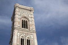 Klockstapel - Klocka torn, domkyrka; Florence Arkivfoto