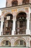 Klockstapeln av den Rila kloster Royaltyfri Foto