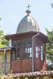Klockstapeln av kloster av St Nicholas royaltyfria foton