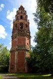 Klockstapeln av St John det baptistiskt. Ryssland Yaroslavl Royaltyfri Foto