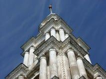Klockstapeln av St Nicholas Cathedral Arkivbild