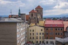 Klodzko в Польше стоковая фотография