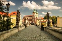 Klodzko en Pologne photographie stock libre de droits