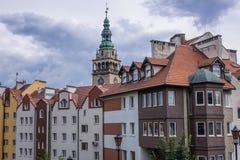 Klodzko in Polen Stock Afbeelding