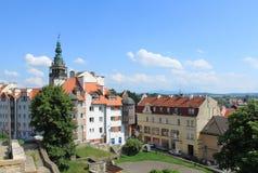 Klodzko, Polen Stock Foto's