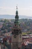Klodzko stad Arkivbild